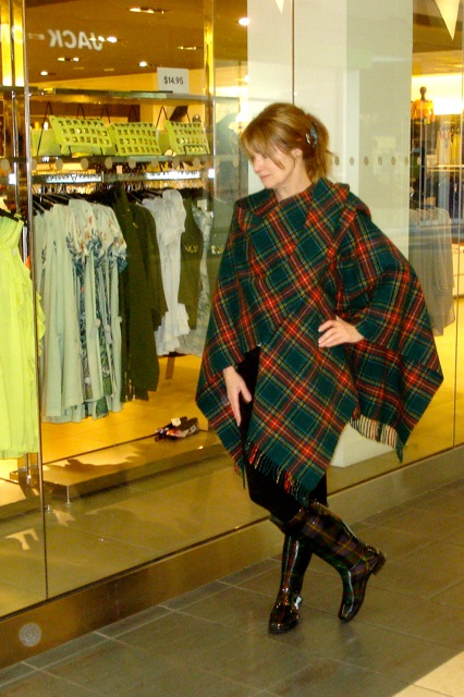 Okay, so it's a little too much tartan, but I wear what I like!