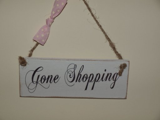 http://www.featurewallart.co.uk/gone-shopping-sign-shabby-chic.html
