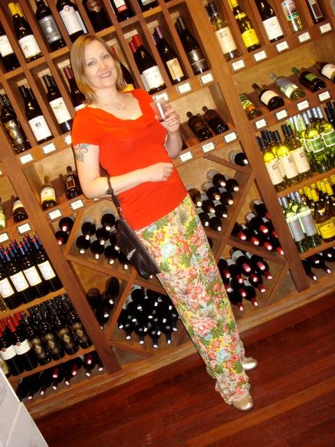 Jean tasting wine