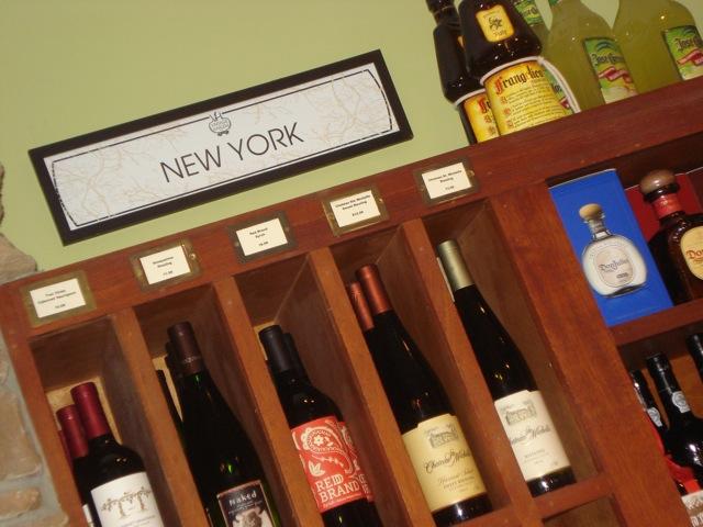 wine bottles NY