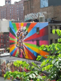 view from High Line