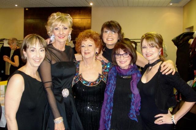 Lise, Nanette, Muriel, Trish, Marlene, carmen