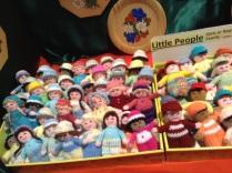 little handknit dolls