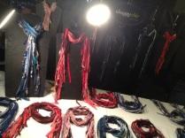 shaggy chic handmade scarves