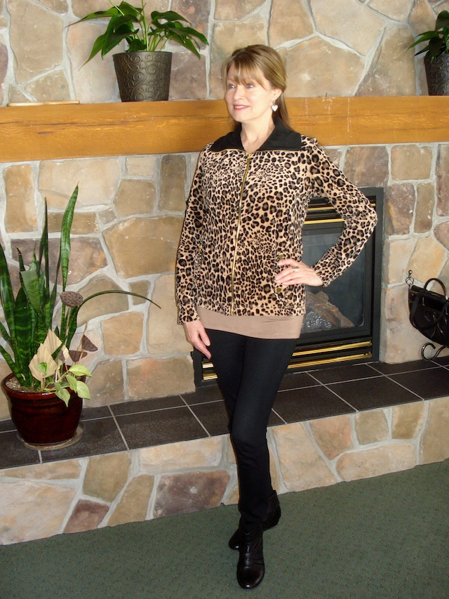Sears leopard jacket 2