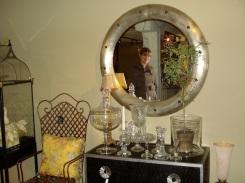 carmen in the mirror