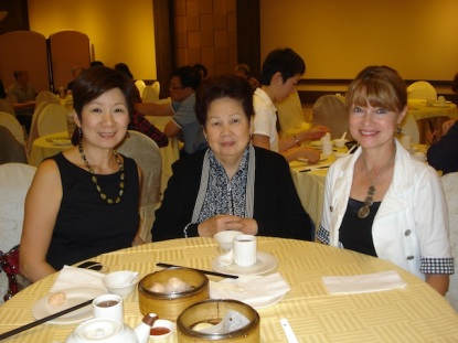 A fun day of shopping in Toronto and having lunch with Maggie's mom at a Chinese restaurant.