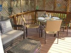 Maggie's deck