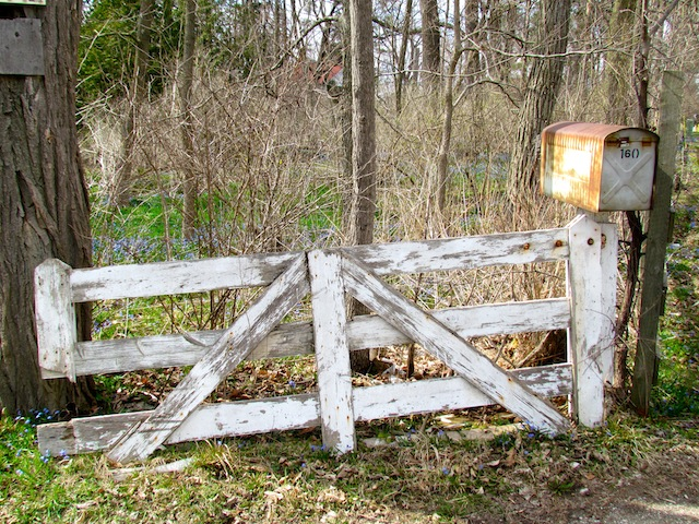 weathered gate