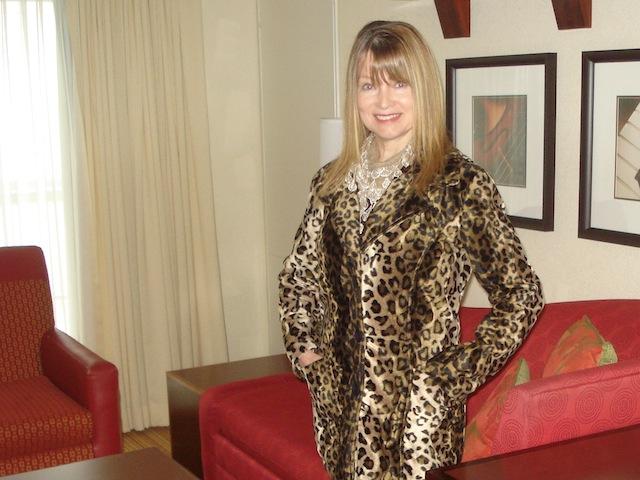 genuine FAKE leopard coat