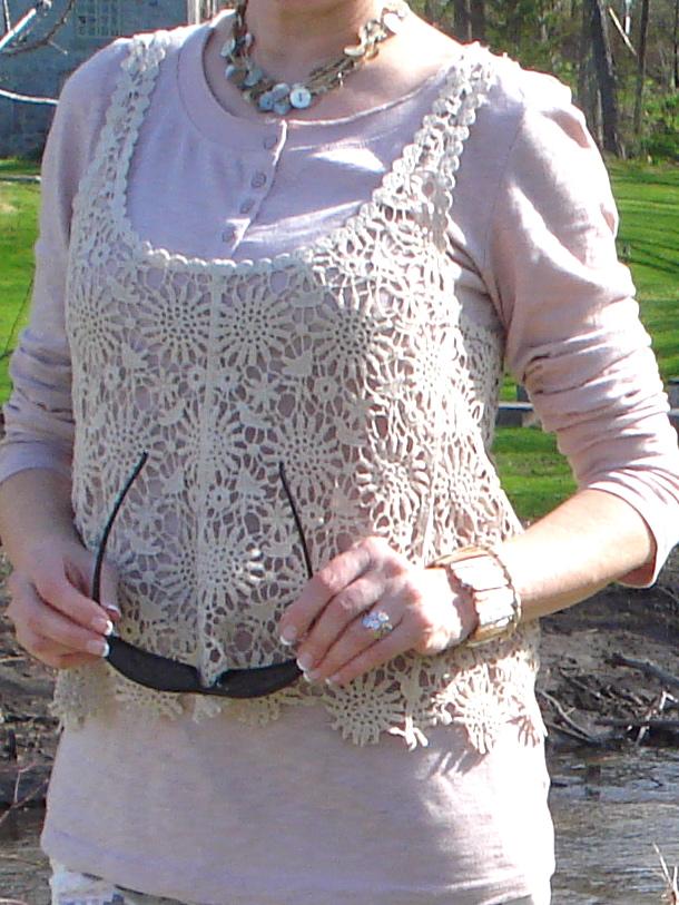 lace vest