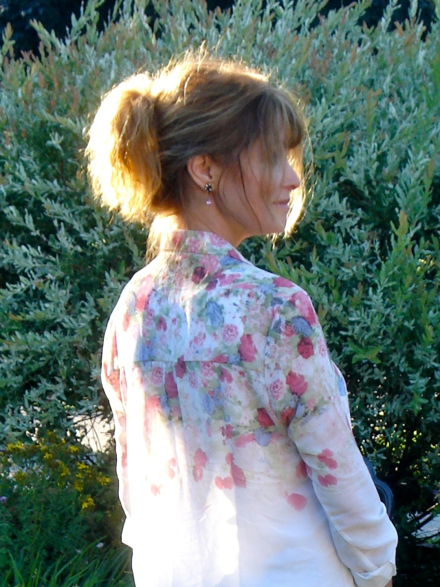 back of blouse