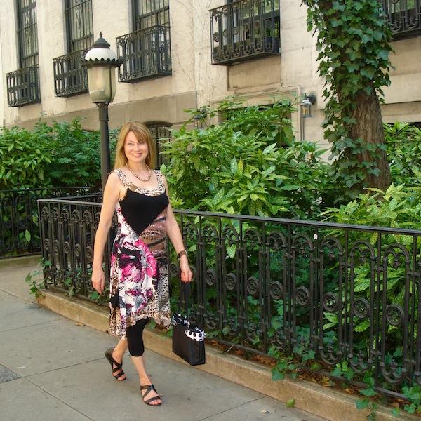 sidewalk in NYC