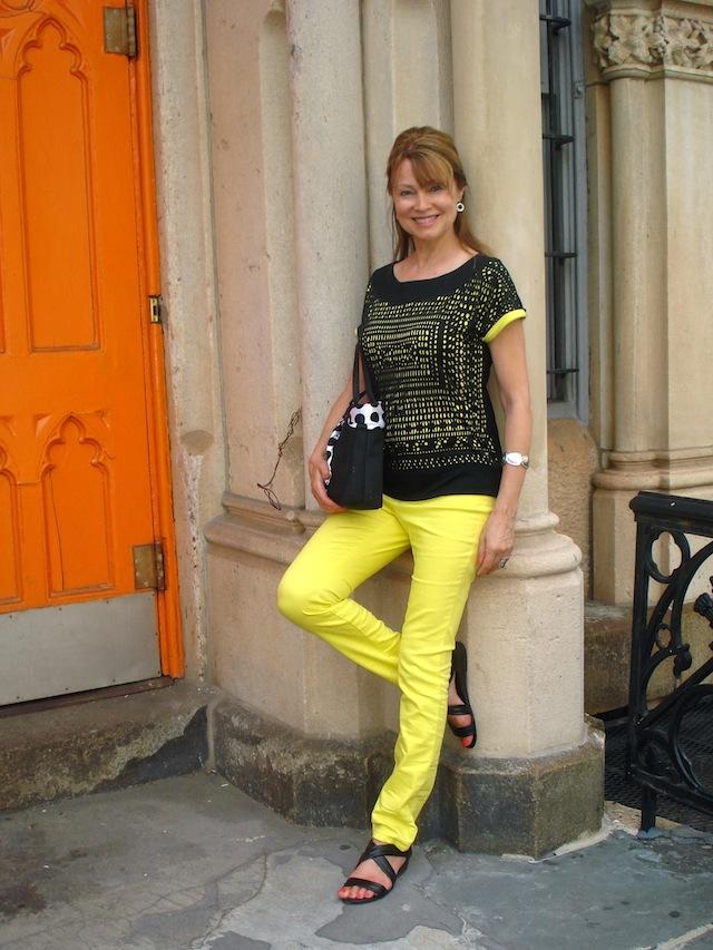 me by orange door