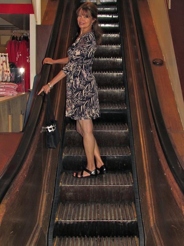 Macy's escalator