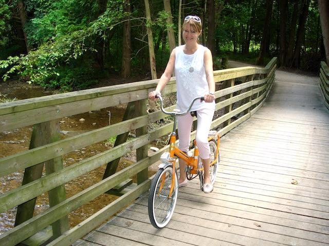 my orange bike
