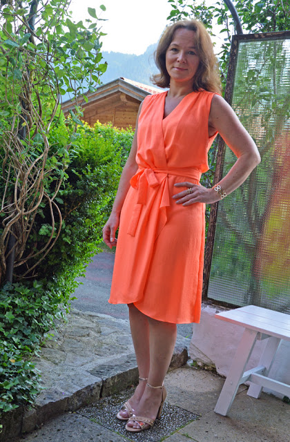 Neon-annette-orange-Dress