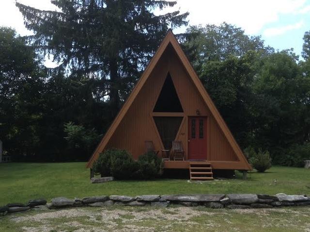 A-frame cottage