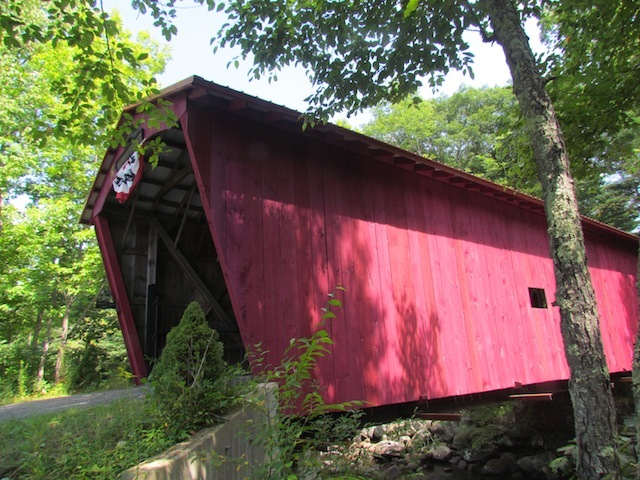 covered bridge side view
