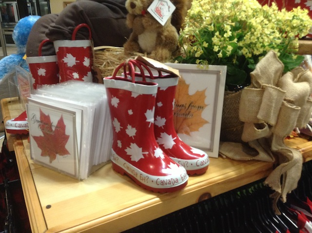 maple leaf boots