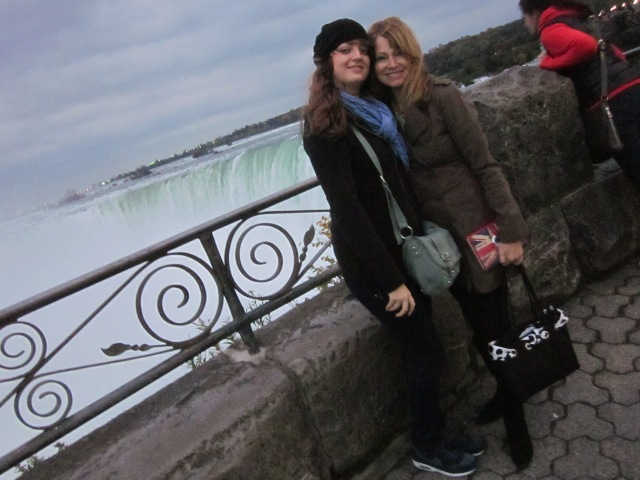 Lara and me