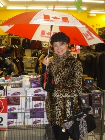 Shopping at Giant Tiger