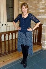 high low skirt - winter
