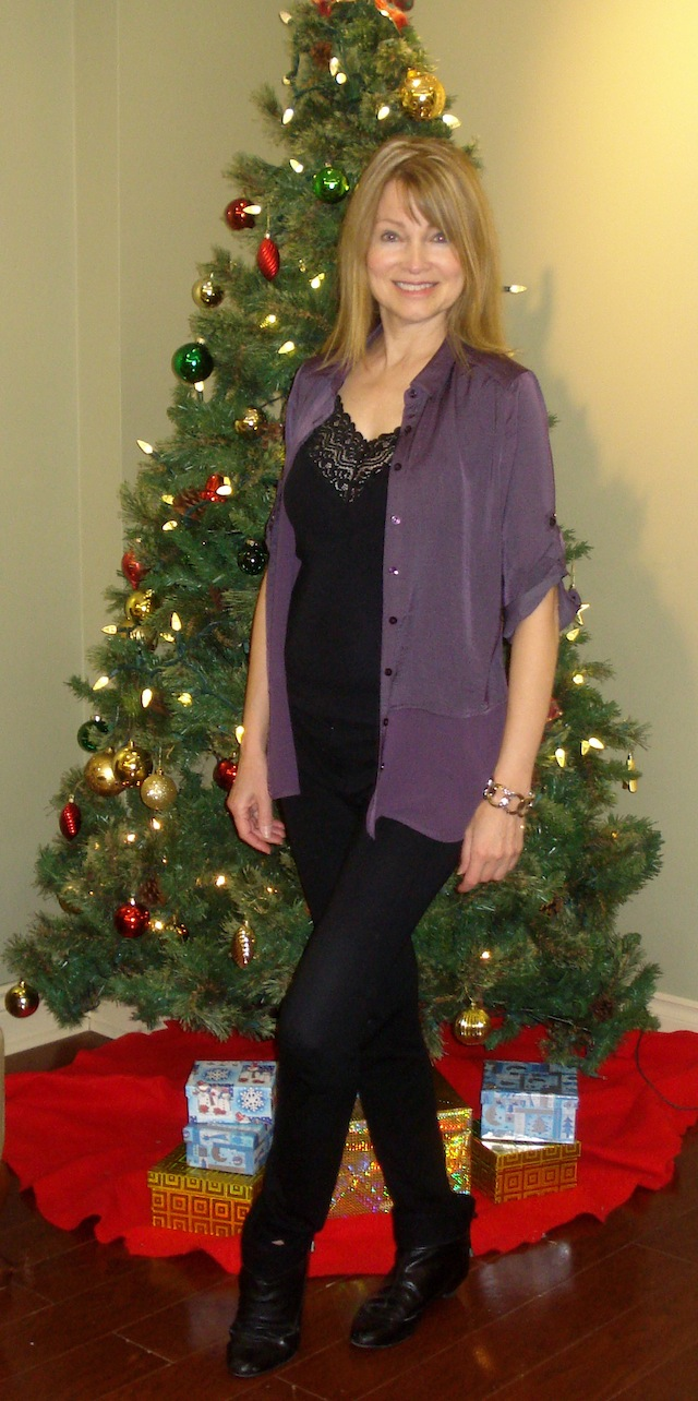 Christmas blouse