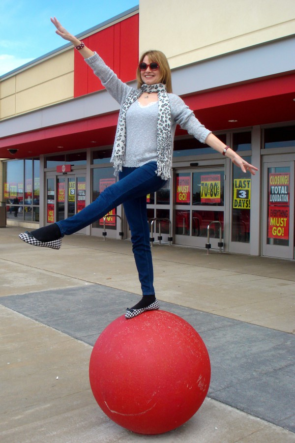Balancing on the ball