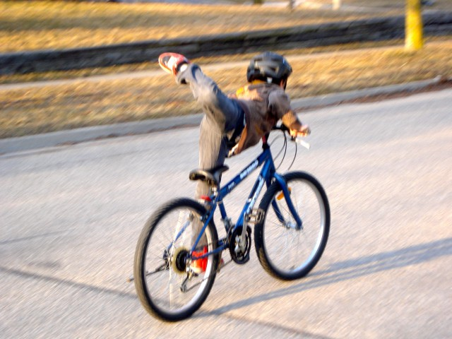 bike trick