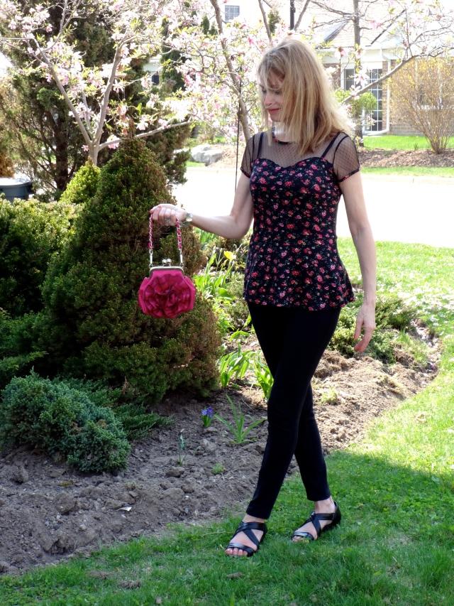 floral peplum
