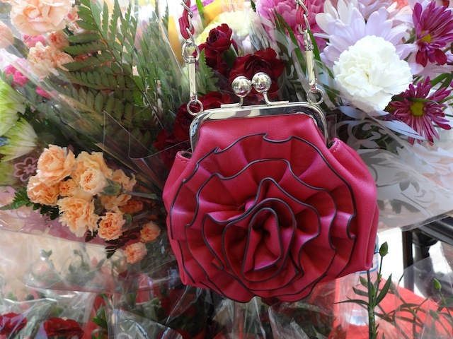 fuchsia purse