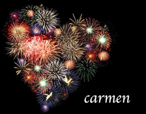 love carmen