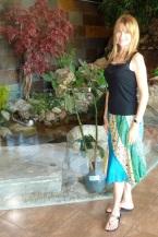 multi-patterned skirt