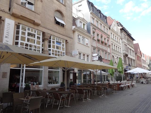 sidewalk cafes