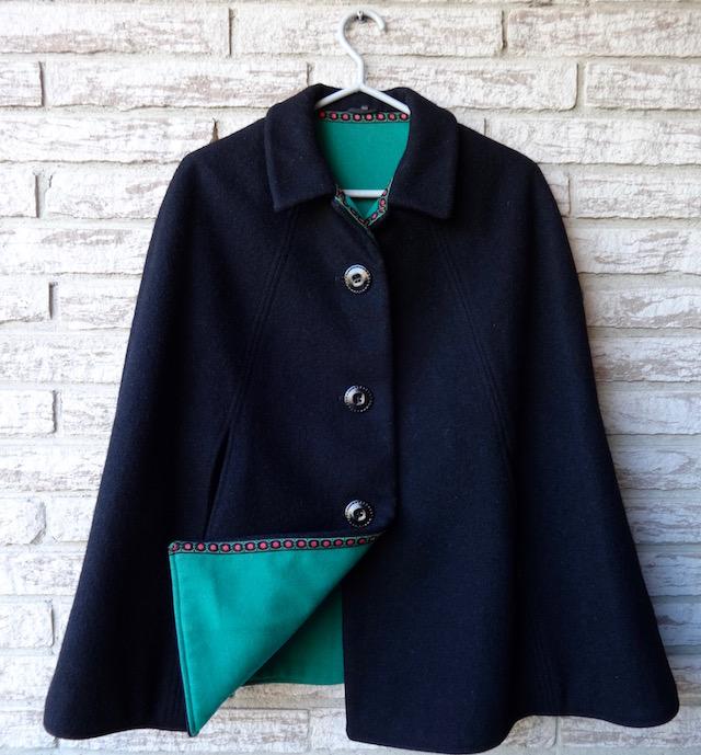 vintage cape