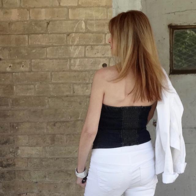 bustier back