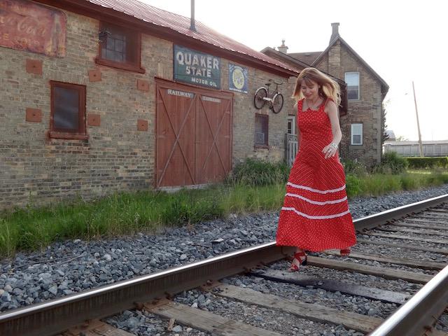 red dress 5