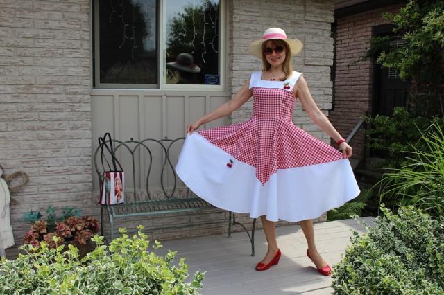 gingham dress 2
