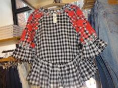 gingham blouse 3