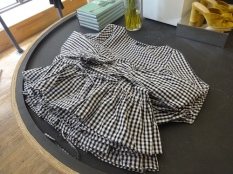 gingham blouse a