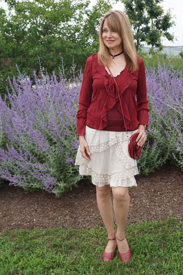 burgundy blouse 1