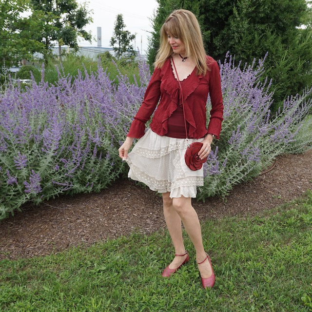 burgundy blouse 3