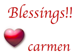 blessings carmen
