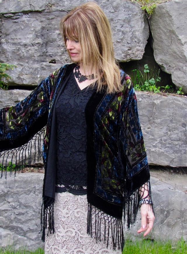 velvet Kimono 2