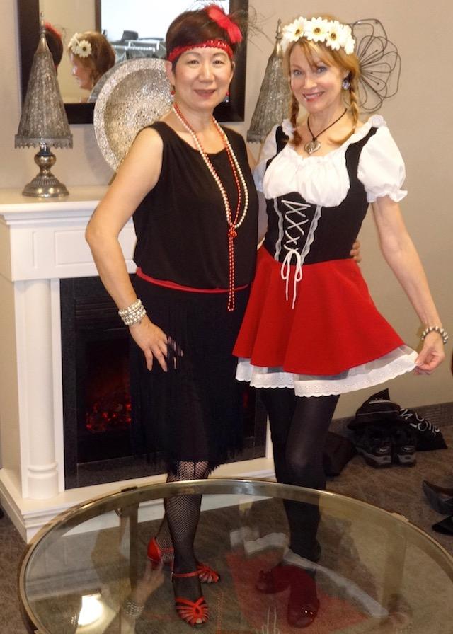 Flapper and Heidi