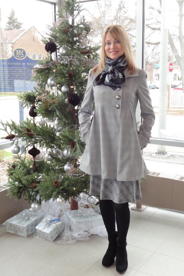 mini houndstooth-coat