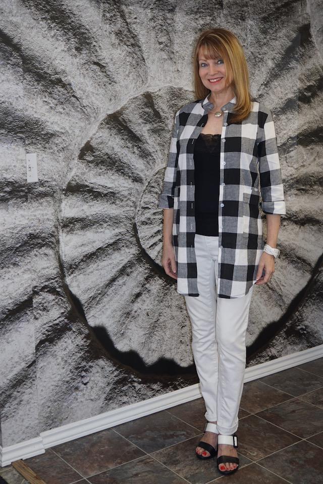 black and white checkered white 2