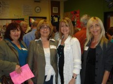Darlene, Valerie, me and Shirley - told me all the girls loved Johnny!