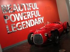 Ferrari at the Lemay Car Museum in Tacoma, Washington